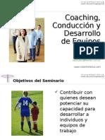 Conferencia Conduccion y Desarrollo de Equipos Parte I