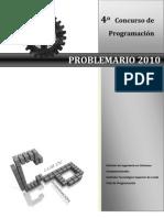 PROBLEMARIO 2010