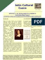 Spinoza y su pensamiento jurídico