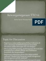 Kewarganegaraan TTO 6