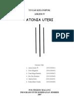 Askeb IV Atonia Uteri
