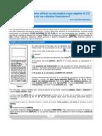 Manual Rapido Del Algebra Fx 2