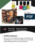 Revlon Presentation