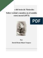 Análisis del texto de Nietzsche