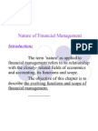 24495170 Financial Management Nature and Scope