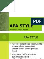 APA Style Fitz