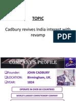 Cadbury revives India interest with revamp