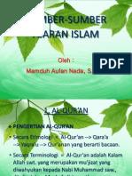 5. Sumber Ajaran Islam