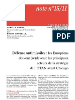 Défense antimissiles