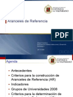 Presentación ArancelesRef 2009