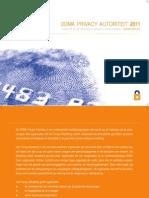 DDMA - Privacy Autoriteit 2011
