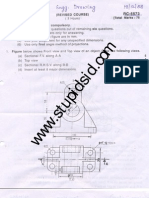 30755d1304962898 Mumbai University 2nd Sem Engineering Drawing Ed Exam Download Previous Years Question Papers Mumbai University 2nd Sem. Engineering Drawing Ed Sample Paper 1