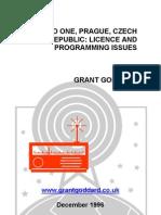 'Radio One, Prague, Czech Republic