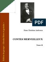Andersen Contes Tome2