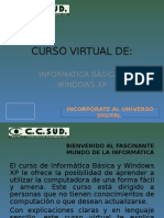 Curso de Informática Básica y Windows XP