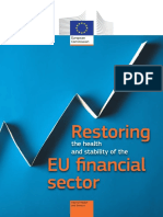RESTORING THE HEALTH AND STABILITY OF THE EU FINANCIAL SECTOR