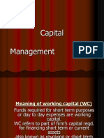 14040291 Working Capital Management Finance Ppt