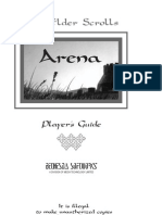The Elder Scrolls -Arena Player's Guide