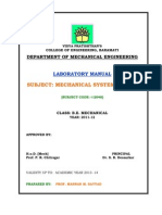 MSD Lab Manual