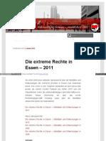 Die Extreme Rechte in Essen (2) - 2011 - Wordpress Antifa Essen de 2012 01 Die Extreme Rechte in Esse