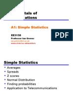 A1 Simple Statistics