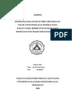 Contoh Skripsi Akuntansi Keuangan Pdf Contoh Soal Dan Materi