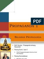 Propaganda 1 [Sejarah & Teknik Propaganda]
