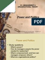 MOB 8 Power & Politics