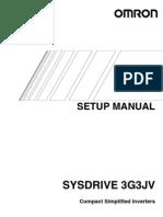 Setup Manual 3G3JV