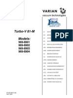 Varian Turbo V81 M Instructions