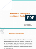 Estadistica Descriptiva - Medidas de Variabilidad