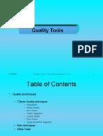 Quality Tools