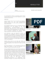 WMM Newsletter 29. Januar 2010