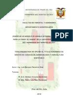 Diseno Modelo Granja Integral Agroecologica Finca a El Gansoa