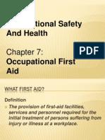 Osha First Aids