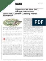 Algunas Paradojas Actuales SEO Smo Community Manager Periodismo Educaci n Content Curator y Mundo Academico