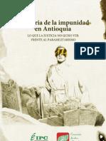 Memoria de la Impunidad en Antioquia