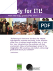 Readyfor ITt  Booklet - Archaeology and Teachers