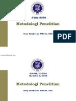 1 Metodologi Penelitian - Ketentuan Umum