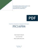 Arquitetura, Organização e Linguagem de Montagem - PIC16F84