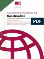 FIDIC Contract 99