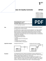 Siemens Indoor Air Quality Controller QPA84_en