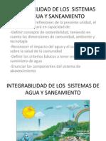 Integrabilidad de Los Sistemas de Agua y Saneamiento
