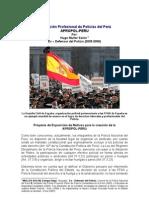 Asociación profesional de Policial del Perú. apropol