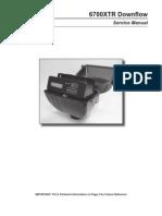 6700XTR Service Manual Downflow