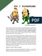 Cervantes y Shakespeare