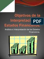 Objetivos de la Interpretación de Estados Financieros