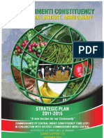 Central Imenti Strategic Plan 2011-2015. Authored by Juster Miriti and L.N Mwaniki