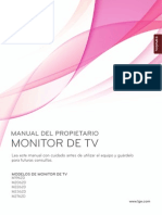 Monitor LG M2262D Lcd
