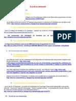 liens internet organisation du travail et mutations de l'emploi